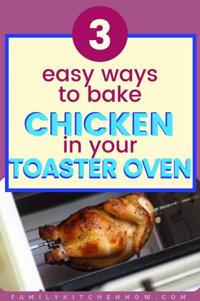 Guide to How to Bake Chicken in a Toaster Oven