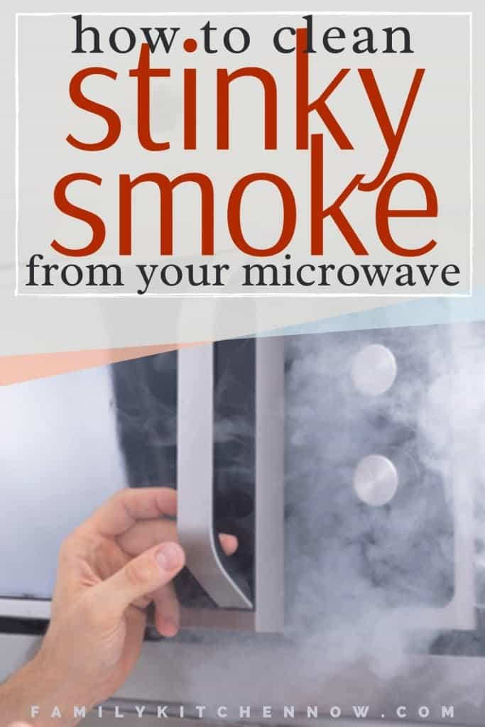 PIN   How To Get Smoke Smell Out Of Microwave