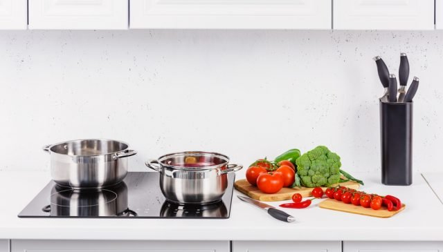 best cookware for electric stove | photo of two pots on stove