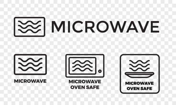 Can You Put Tupperware In The Microwave | microwave oven safe icons