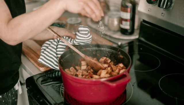 Photo of Dutch oven on stovetop